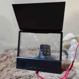 Ampliador de tela de celular com áudio