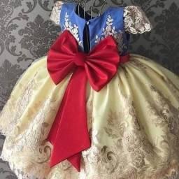 Vestidos de festa infantil Reakeza super luxo do 01 até 08 anos a Pronta Entrega.