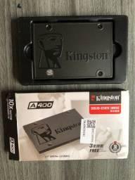 Ssd 120GB A400 KingSton Sata 2.5 Produto Novo MacBook Air Pro Lenovo Samsung PC Gamer