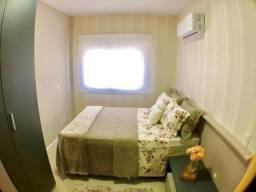 Apto 02 dormitórios de frente com infra completa