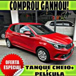 TANQUE CHEIO SO NA EMPORIUM CAR!!! FIAT ARGO ANO 2018 COM MIL DE ENTRADA