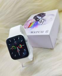 Relógio Smartwatch lançamento iwo watch 6 a prova dágua