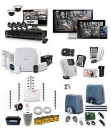 Portão eletronico interfone cameras alarme cerca eletrica vendas instalações e manutenção