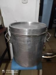 Torro panela térmica de alumínio 35 e 17 litros para transporte de alimentos