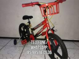 Bicicleta Infantil Aro 16 Masculina Flash - LEIA O ANÚNCIO, ACEITO CARTÃO
