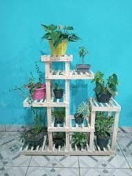 Floreira vertical para casa ou jardim