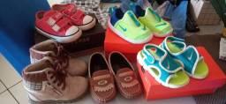 Lote calçados semi novos