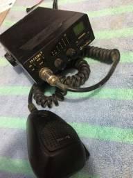 Rádio px cobra 19 ultra + bip instalado + antena