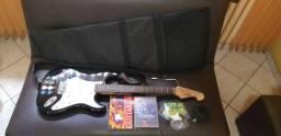 Guitarra memphis mg22 + Amplificador Sheldon GT 150 + acessórios
