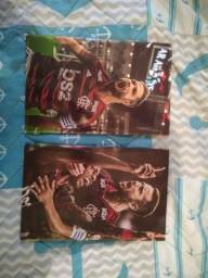 Vendo os 2 quadros do Flamengo