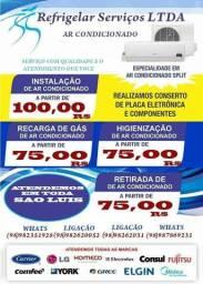 Instalação Apartir de R$ 100,00 Manutenção Apartir de R$75,00