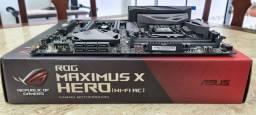 Placa Mãe Asus ROG Maximus X Hero (Wi-Fi AC) (usada)