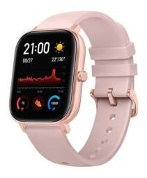 Relógio Amazfit gts A1914 versão global Rose (Novo)