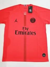 Camisa PSG Goleiro Vermelha Jordan 18/19 - Tamanho: P