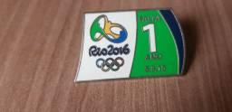Pin Oficial Rio 2016 Colecionador