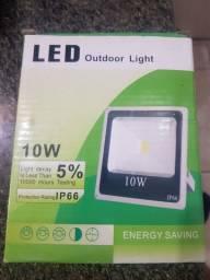 Refletor  de 10w  Led luz branca