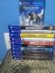 Vendo 11 jogos de PS4