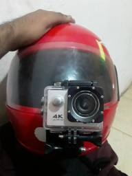 Câmera 4k + k6 plus Lenovo aceito  troca por celular  de 32 gigas