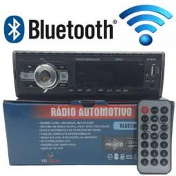 Rádio Automotivo Bluetooth FM Novo com Garantia