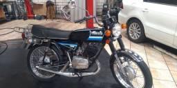 Moto RX 125 dóis tempos !!! Relíquia !!!