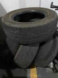 4 pneus semi novo 265/65 r17 H