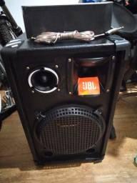 Caixa de Som 12 polegadas 3 vias 300 wats rms