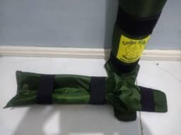 Caneleira para Muay Thai K-1 verde furta cor
