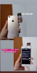 iPhone 7 Gold 32 G iCloud limpo