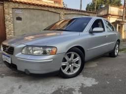 Volvo s60 2005 2.0 t simplesmente novo de verdade ac troca financio doc 2020 ok!!!
