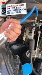 Bomba Aplicar Injetor Militec - Compressor De Ar Cond. Carro