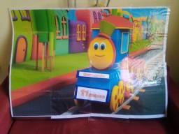 Painel Bob o trem