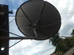 Antena sky  40 reais completa