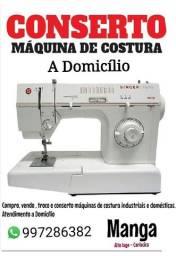 Conserto , compro máquina de costura em domicílio