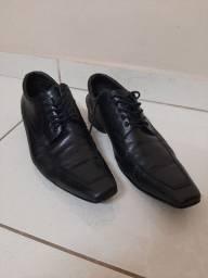 Sapato Social Preto Millano - Conservado Tamanho 42