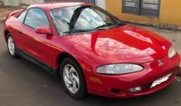 Mitsubishi Eclipse 1995 G2 Vermelha Turbo GST