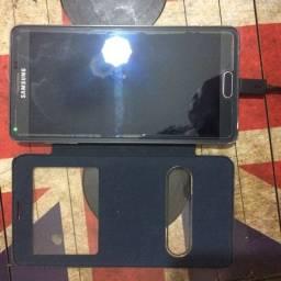 Celular Samsung Note 4 preto