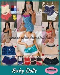 Compre direto de Fábrica - calcinhas, sutiãs, camisolas, baby dolls etc. Apenas atacado!
