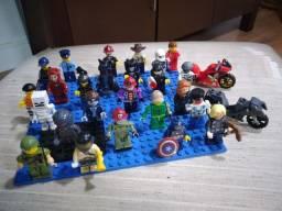 Bonecos de Lego e Bonecos do Playmobil