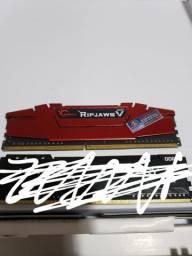 Memoria ram 8GB gskill F4-2400C15D-16GVR 2400MHZ