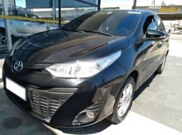 Toyota Yaris HB 1.3 XL Automático, 2018/2019, Completo, Preto, 11.000km, Extra!!!