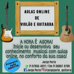 Aulas Online de Violão e Guitarra