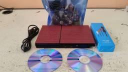 Ps2 impecável com material novo roda cd e pendrive  Top