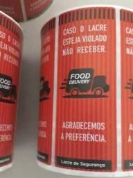 Lacre de Segurança Delivery Rolo com 1000 etiquetas