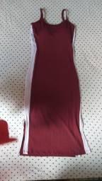 Vendo esse vestido canelado vermelho ?