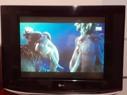Televisão LG 29'' slim tela plana LG, funcionando perfeitamente