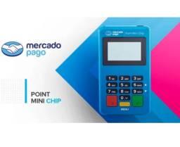 Maquininha Point Mini Chip - A Máquina De Cartão do Mercado Pago