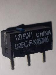 Micro-switch D2FC-F-K (50M) Omron (Novo)