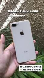 iPhone 8 Plus 64GB - Seminovo - Garantia