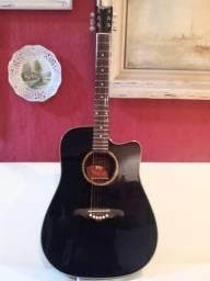 Violão tagima Nashville regulado por luthier muito novo