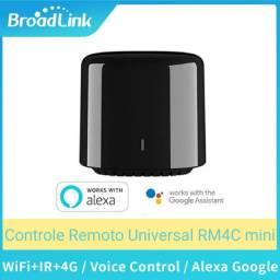 Broadlink RM4C mini Controle Remoto Universal Novo - Trabalha com Alexa e Google home